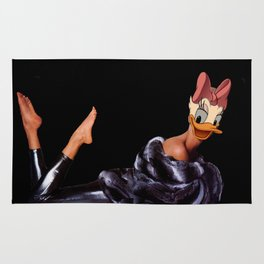 Coquette furry lady Rug