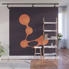 Typography series #L Wall Mural