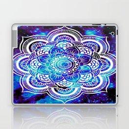 Mandala : Bright Violet & Teal Galaxy Laptop & iPad Skin