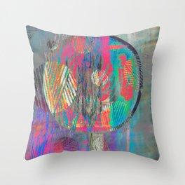 NL 6 12 Tie Dye Gloom Throw Pillow