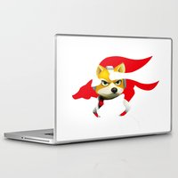 starfox Laptop & iPad Skins featuring Starfox by ElmWood Grove