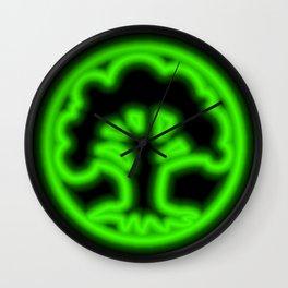 Magic the Gathering, Neon Green Mana Wall Clock