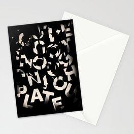 Chercher ses mots Stationery Cards