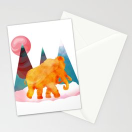 Mammoth Mountains Stationery Cards