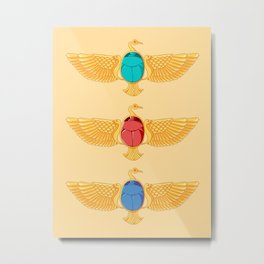 The Birds and the... Beetles? Metal Print