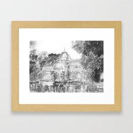 Crystal Palace (El Retiro Park - Madrid) Framed Art Print