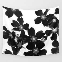 Primrose In BW Wall Tapestry