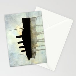 Titanic watercolour Stationery Cards