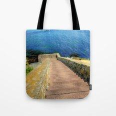 Ocean Stairs Tote Bag