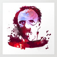 hannibal Art Prints featuring Hannibal by BIG Colours