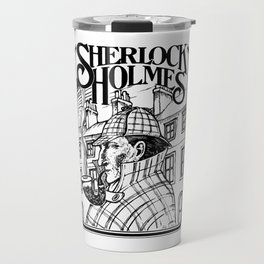 Sherlock Holmes /The Consulting Detective by Peter Melonas Travel Mug