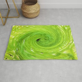 500 - Abstract Fern Design Rug