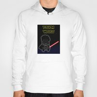 darth Hoodies featuring Darth by Afro Pig