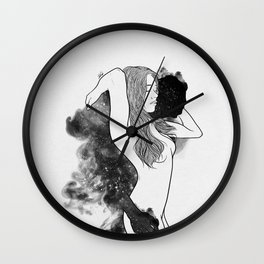 The courage of deeply love. Wall Clock