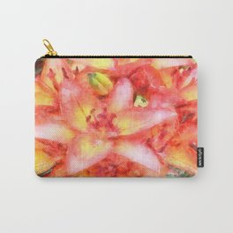 Helen's Lilies Watercolor Carry-All Pouch