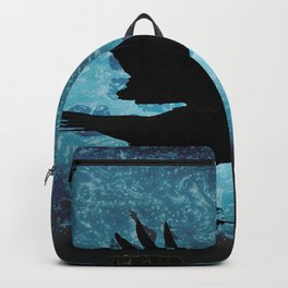 Descent of the Midnight Rook Backpack