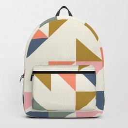 Floating Triangle Geometry Backpack