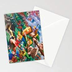 Zelda Mash Up Stationery Cards