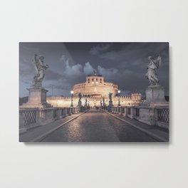 Castel Santangelo in Rome Metal Print