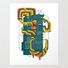 Magic Stereo Art Print