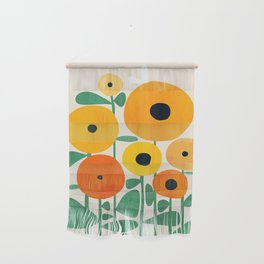 Sunflower and Bee Wall Hanging