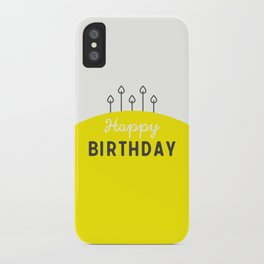 Happy Birthday iPhone Case