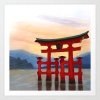 Itsukushima Shrine Art Print