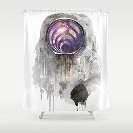 basstronout Shower Curtain
