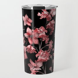 Dark Red Beetles Travel Mug