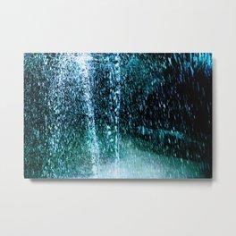 Raining Up and Down Metal Print