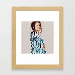 Back to the Basics Framed Art Print
