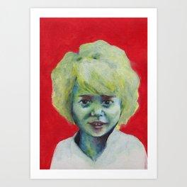 Nos étrangers 8 Art Print