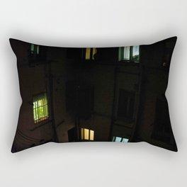 Live at night Rectangular Pillow