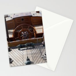 Sail boat digital painting Stationery Cards