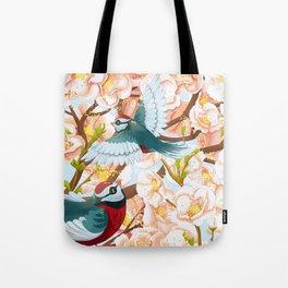 The seasons | Spring birds Tote Bag