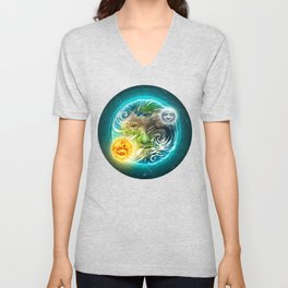 The Earth Unisex V-Neck