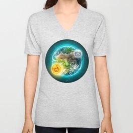The Earth Unisex V-Neck