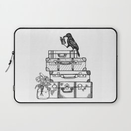 Stacked Suitcases Laptop Sleeve