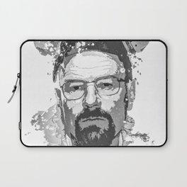 Breaking Bad, Walter White splatter painting Laptop Sleeve