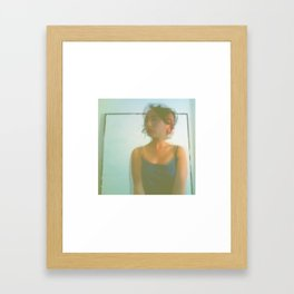 Chaos Around Her Framed Art Print