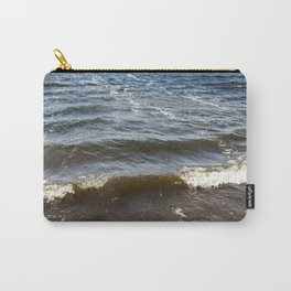 Lake Water Waves 2 Carry-All Pouch