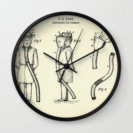 Respirator for Firemen-1889 Wall Clock