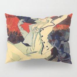 Jardin De Paris F Te De Nuit Bal 1896 By Jules Cheret | Reproduction Art Nouveau Pillow Sham