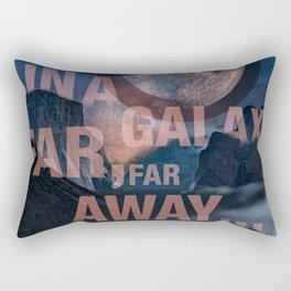 Off Center - In a Galaxy Rectangular Pillow