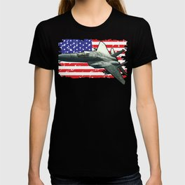 F15 Fighter Eagle for Military Aviation Fan  Product T-shirt