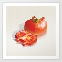 Tomato Pattern Art Print