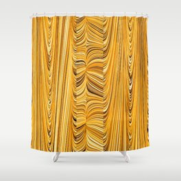 Electric Field Art XL Shower Curtain