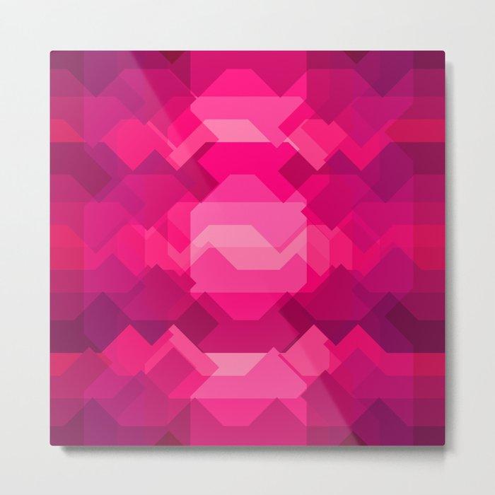 Gemstone - Ruby Metal Print