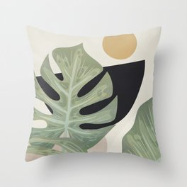 Elegant Shapes 16 Throw Pillow