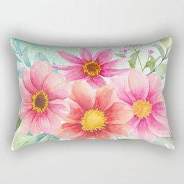 Flowers bouquet 72 Rectangular Pillow
